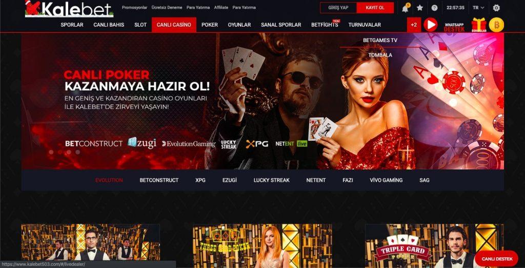 kalebet canlı casino 1024x522 - Kalebet TV